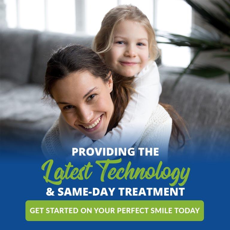same day treatment